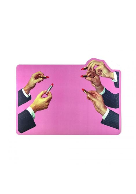 PINK PLACEMATS LIPSTICK MODEL SELETTI |  | 02101MULTICOLOR