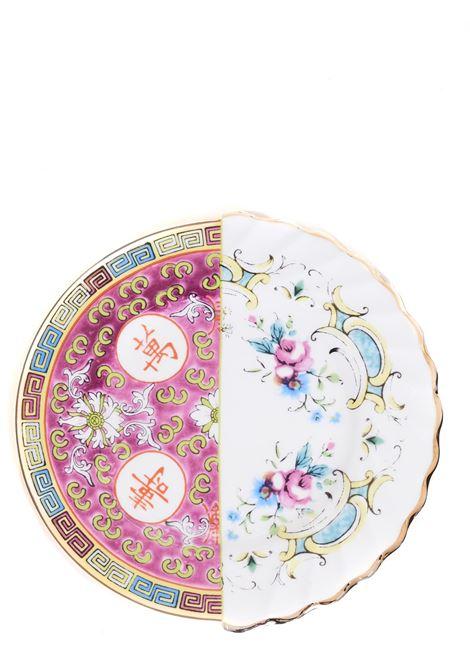 PIATTO FRUTTA IBRIDO EUDOSSIA DESIGN CTRLZAK SELETTI | Piatti in porcellana | 09703MULTICOLOR