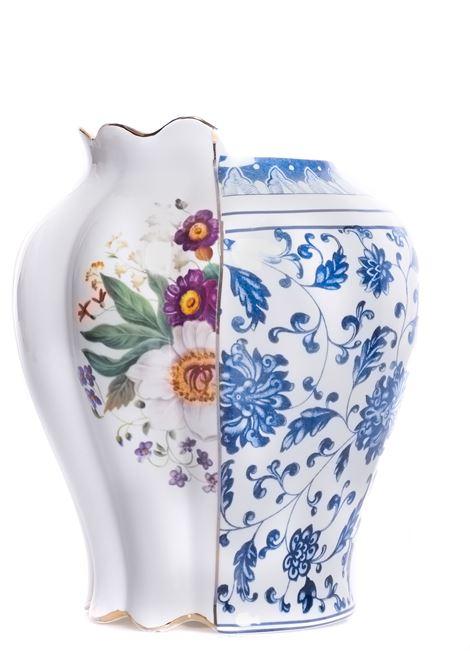 VASO IBRIDO MELANIA DESIGN CTRLZAK SELETTI | Vasi in porcellana | 09770MULTICOLOR