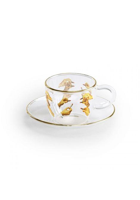 LIPSTICK-PRINT CUP OF COFFEE SELETTI |  | 15972MULTICOLOR