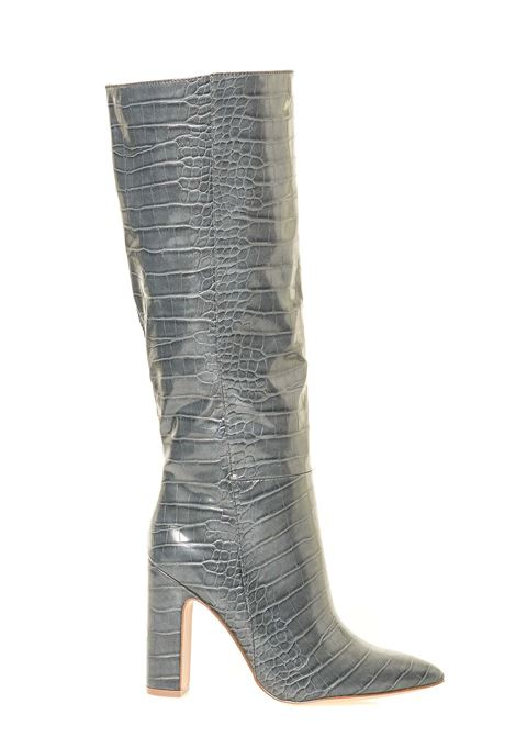 ROUGE GRAY CROCO BOOT IN LEATHERETTE MODEL STEVE MADDEN |  | SMSROUGEGRYCRO