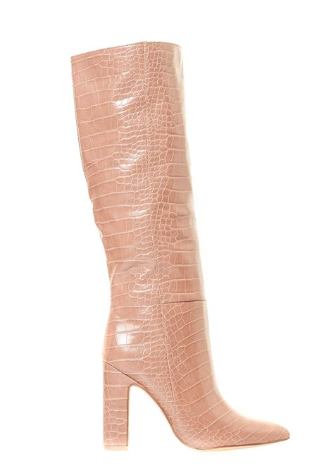 PINK BOOTS IN LEATHERETTE MODEL ROUGE TAN CROCO STEVE MADDEN |  | SMSROUGETANCROCO