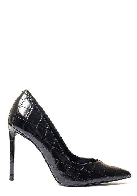 DECOLLETE' NERO IN SIMILPELLE MODELLO PRINCESS CROCODILE STEVE MADDEN | Decollete' | SMSWPRINNERO