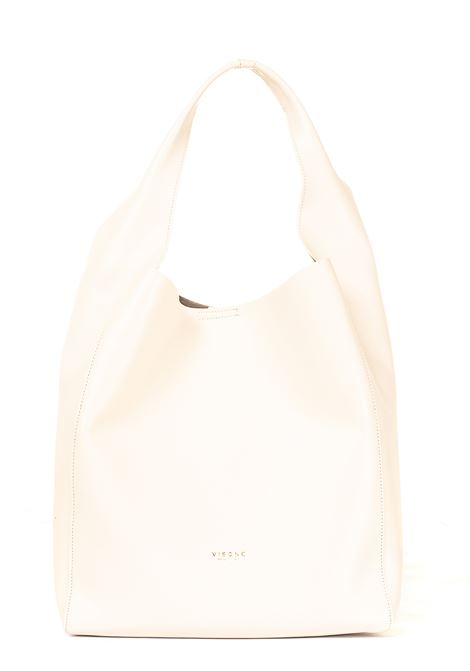 WHITE LEATHER BAG ELIZABETH MODEL VISONE | Bags | ELIZABETHLEATHERBIANCO