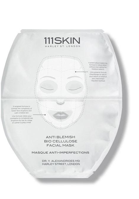ANTI BLEMISH BIO CELLULOSE FACIAL MASK 111SKIN | Maschera viso | 71837FACIALMASKSINGLE25MLUNICA