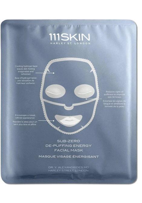 SUB-ZERO DE-PUFFING ENERGY FACIAL MASK 111SKIN | Maschera viso | 74272MASKSINGLE30MLUNICA