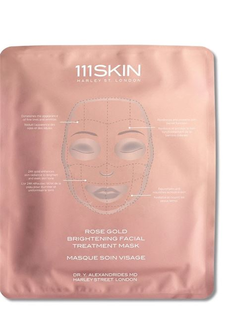 ROSE GOLD BRIGHTENING FACIAL TREATMENT MASK 111SKIN | Maschera viso | 75910MASKSINGLEFACIAL30MLUNICA
