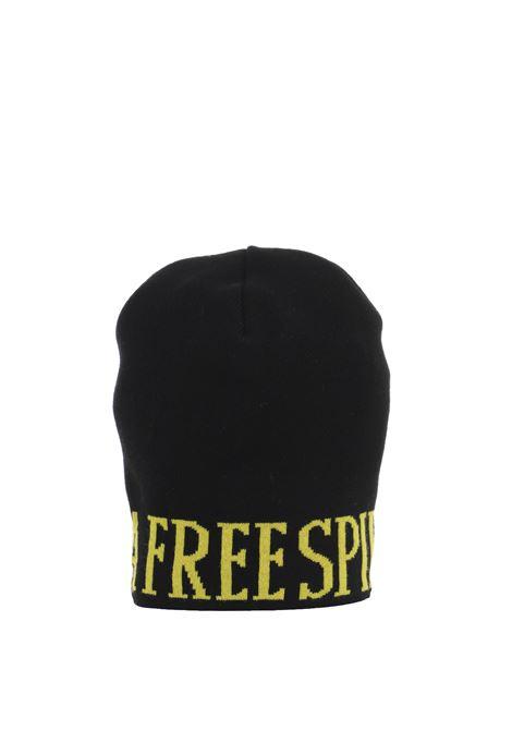 BLACK HAT WITH INLAY ALBERTA FERRETTI | Hair | 368251101555