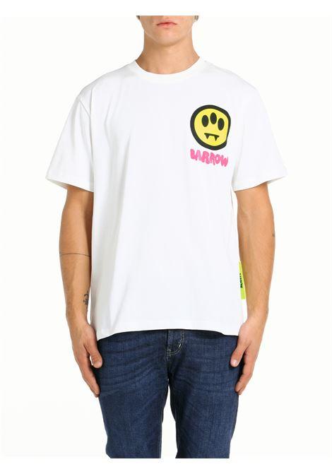 T-SHIRT IN COTONE BIANCA BARROW | T-shirt | 029926002