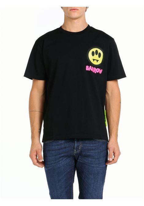 T-SHIRT IN COTONE NERA BARROW | T-shirt | 029926110
