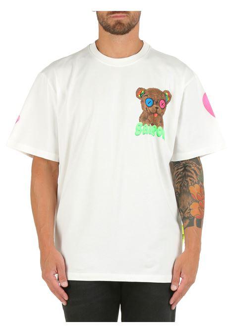 T-SHIRT BIANCA IN COTONE CON STAMPA BARROW | T-shirt | 031111002