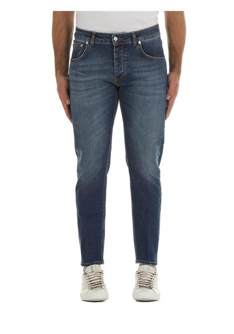 JEANS DAVIS SHORTER IN DENIM DI COTONE BE ABLE | Jeans | DAVISSHORTERHDY14