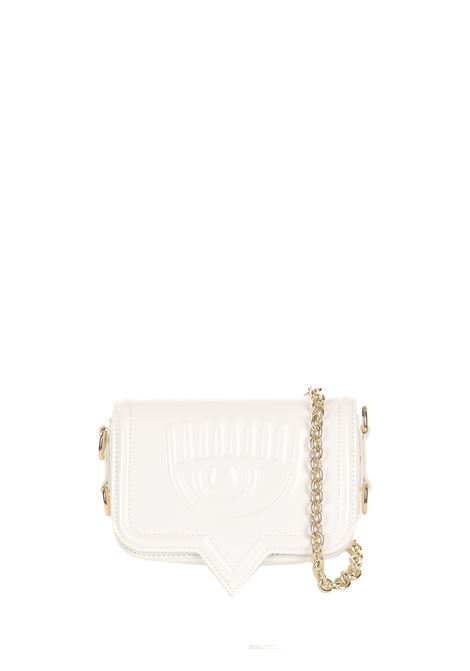 SMALL WHITE EYELIKE BAG CHIARA FERRAGNI | Bags | 71SB4BA2ZS133003