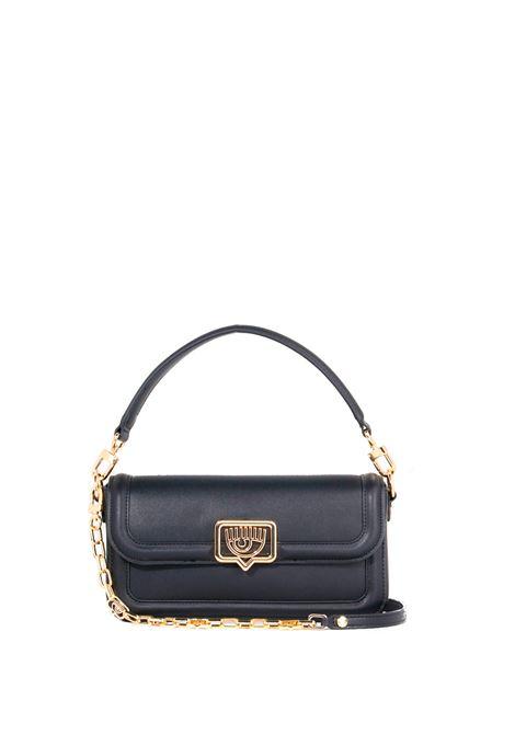 BLACK BAG WITH EYELIKE LOGO CHIARA FERRAGNI   Bags   71SB4BB4ZS132899