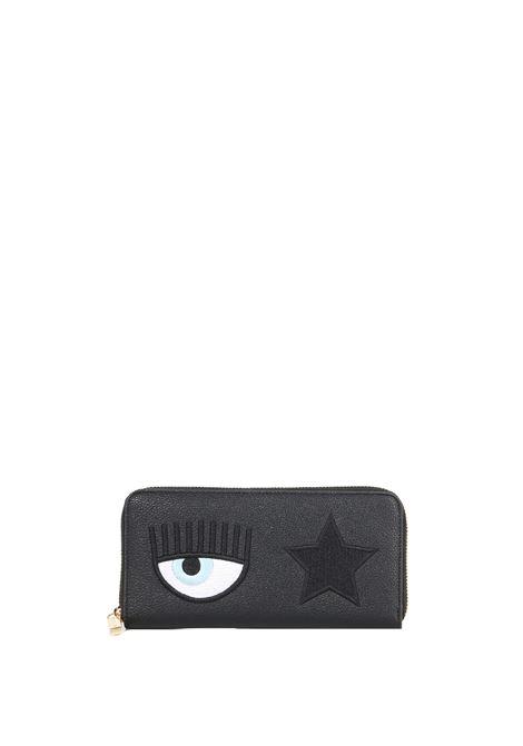 BLACK EYE STAR WALLET CHIARA FERRAGNI | Wallets | 71SB5PO1ZS139899