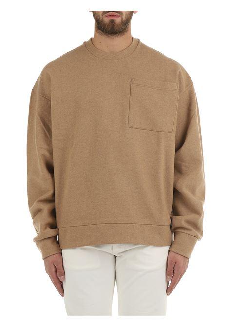 CAMEL SWEATSHIRT IN VIRGIN WOOL COSTUMEIN | Sweatshirt | CR16USAK07