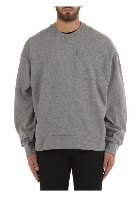 GREY SWEATSHIRT IN VIRGIN WOOL COSTUMEIN | Sweatshirt | CR16USAK18