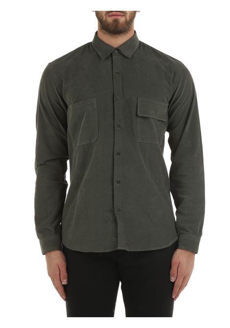 GREEN COTTON SHIRT COSTUMEIN   Shirts   R39DOMENICO500302