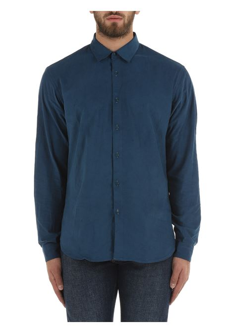 BLUE COTTON SHIRT COSTUMEIN   Shirts   R40BEDOMENICO198440