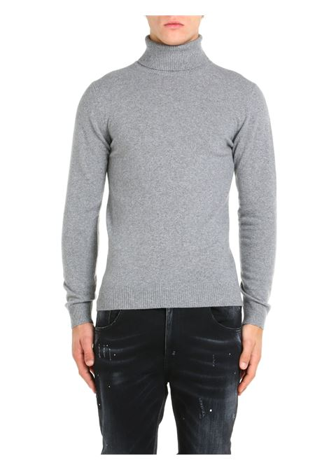 HIGH NECK SWEATER IN GRAY WOOL AND CASHMERE DANIELE FIESOLI |  | DF00330011