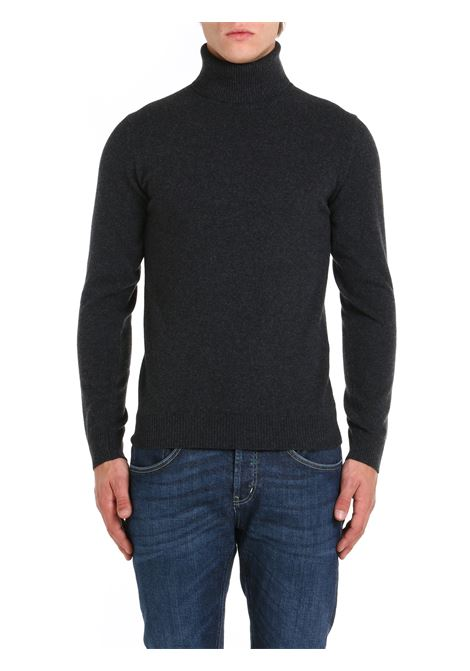 HIGH NECK SWEATER IN GRAY WOOL AND CASHMERE DANIELE FIESOLI |  | DF00330012