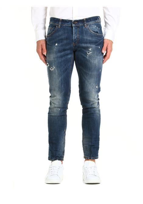 JEANS MIUS IN DENIM DI COTONE DONDUP | Jeans | UP168DS0257BP8DUW21800