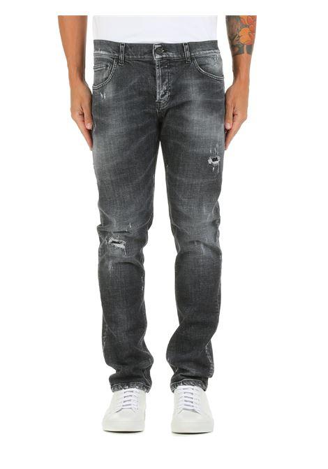 JEANS MIUS IN DENIM DI COTONE DONDUP | Jeans | UP168DSE305BR5DUW21999