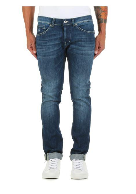 JEANS GEORGE IN DENIM DI COTONE DONDUP | Jeans | UP232DS0107BQ3DUW21800