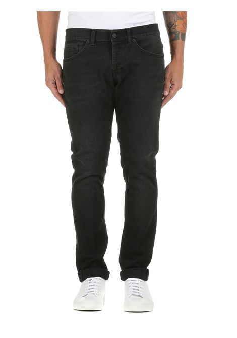 JEANS GEORGE IN DENIM DI COTONE DONDUP | Jeans | UP232DS0255CD5DUW21999
