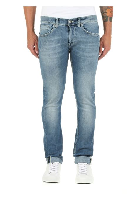 JEANS GEORGE IN DENIM DI COTONE DONDUP | Jeans | UP232DSE282BS8DUW21800