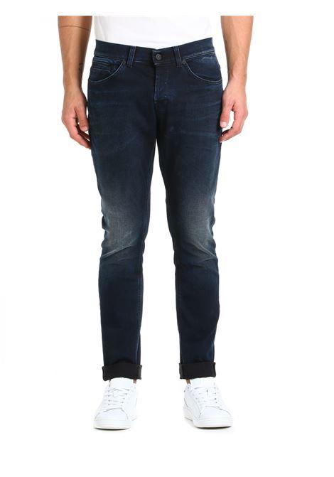 JEANS GEORGE IN DENIM DI COTONE DONDUP | Jeans | UP232DSE308BU2DUW21899
