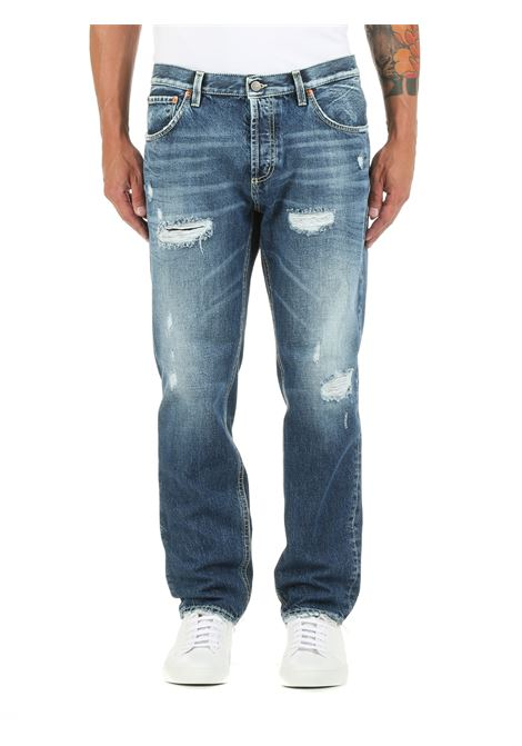 JEANS BRIGHTON IN DENIM DI COTONE DONDUP | Jeans | UP434DF0239BS0DUW21800