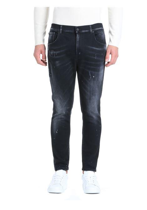 JEANS ALEX IN DENIM DI COTONE DONDUP | Jeans | UP575DSE249BT1DUW21999