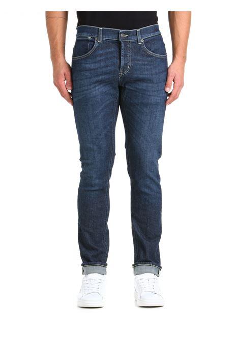 JEANS TRAVIS IN DENIM DI COTONE DONDUP | Jeans | UP579DS0310BU5DUW21800