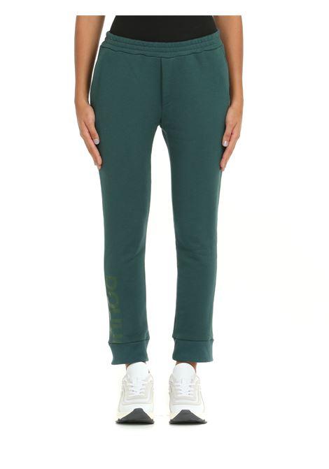GREEN BASIL SUIT TROUSERS DOU DOU | Tracksuit pants | BASILVERDE