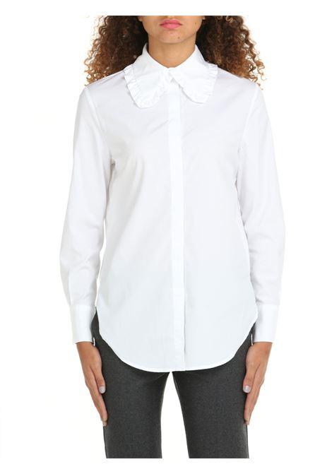 WHITE COTTON SHIRT DOU DOU | Shirts | KIRDD04BIANCO