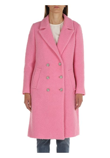PINK BOUCLE 'COAT FRONT STREET 8   Coats   FW24ROSA
