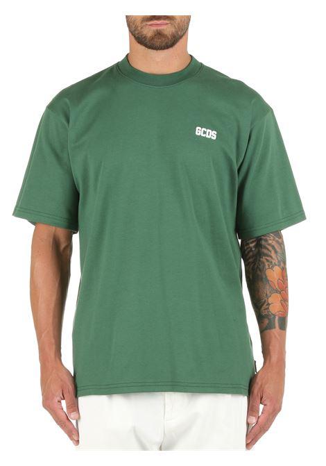 GREEN COTTON T-SHIRT WITH LOGO GCDS |  | CC94M02100105