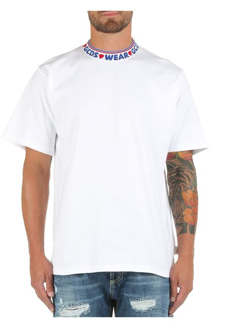 WHITE COTTON T-SHIRT GCDS |  | CC94M02150401