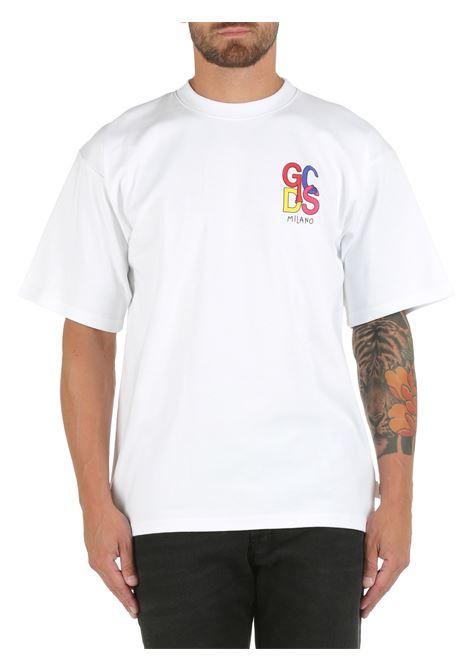 WHITE COTTON T-SHIRT GCDS |  | CC94M02151601