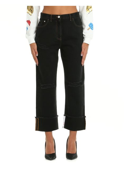 BOYFRIEND COTTON DENIM JEANS GCDS | Jeans | CC94W03145002