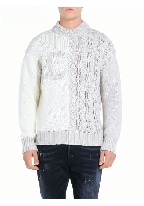 WOOL BLEND SWEATER WITH LOGO INLAY GCDS |  | FW22M02000166