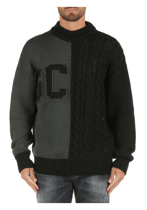 WOOL BLEND SWEATER WITH LOGO INLAY GCDS |  | FW22M02000167