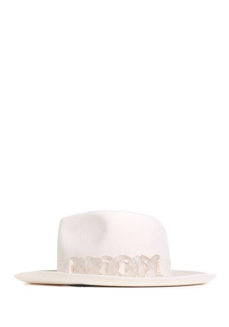 HAT IN WHITE FELT GCDS |  | FW22W01004201