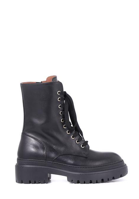 CALF LEATHER BIKER BOOTS L'AUTRE-CHOSE | Boots | LDO00345GG1001