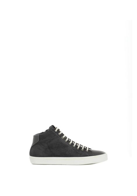 GRGIO MEDIUM SNEAKERS IN LEATHER AND LEATHER LEATHER CROWN | Sneakers | MLC13320163GRIGIO