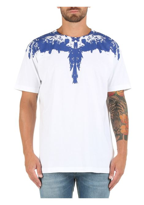 COTTON T-SHIRT WITH WINGS PRINT MARCELO BURLON |  | CMAA018F21JER0050145