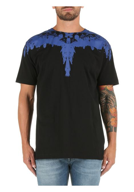 COTTON T-SHIRT WITH WINGS PRINT MARCELO BURLON |  | CMAA018F21JER0051045