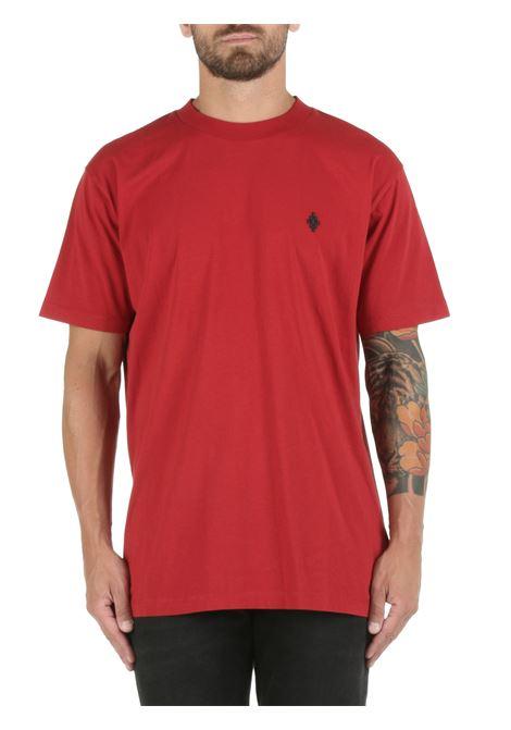RED CROSS REGULAR T-SHIRT IN COTTON MARCELO BURLON |  | CMAA018F21JER0082710