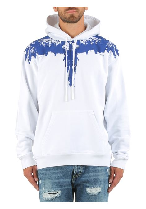 COTTON SWEATSHIRT WITH HOOD WITH TEMPERA WINGS PRINT MARCELO BURLON |  | CMBB007F21FLE0040145